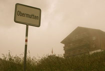 Über der Schynschlucht: Obermutten