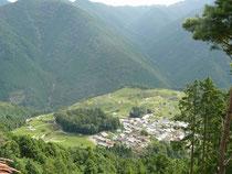 「天空の古来茶」栽培地の一つ上ヶ流地区