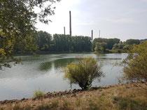 Altmühl fließt in die Donau.