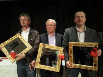 glückliches Siegertrio 2012