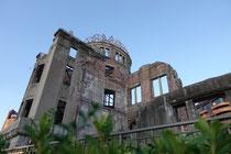 A-Dome in Hiroshima soll daran erinnern, dass nie wieder so etwas Schreckliches geschieht.