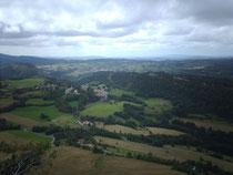 Photo de Chantal, vue depuis le Belvédère du Cuchet