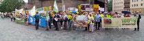 Zahlreiche Bürger-Organisationen protestieren gegen Gabriels Energiewende-Bremse