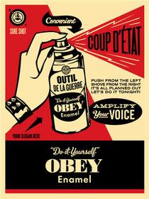 Shepard Fairey Coup d´etat