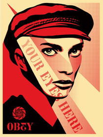 Shepard Fairey Your Eyes Here