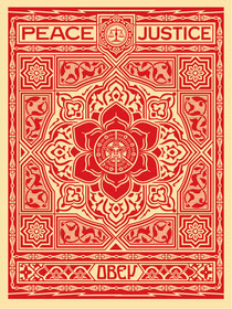 Shepard Fairey Peace and Justice