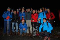 Gruppenbild Nachtwanderung 2014