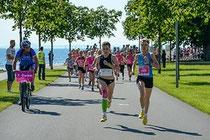 Radbegleitung beim Frauenlauf