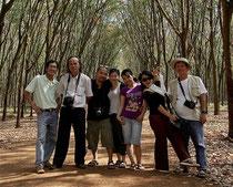 Rừng cao su Long Thành 30.12.2009
