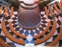 Blick in das Theatrium von AIDAbella