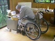 車椅子でのロクロ作陶