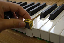 鍵盤の重量確認
