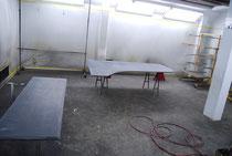 フルコンの屋根を塗装