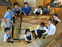 名古屋ピアノ調律センター本社スタッフ