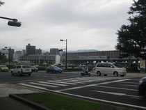 8月5日午後 広島平和記念公園