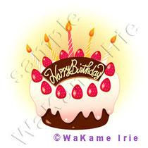 バースデーケーキ 誕生日 イチゴケーキ チョコレートケーキ デコレーションケーキ