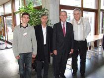 Prof A.GILLES avec Prof PL.FAGNIEZ