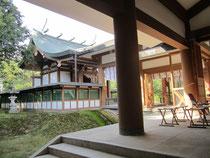 鳥取縣護國神社本殿