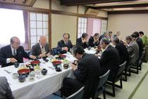 合同研修会の昼食