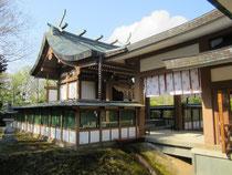 鳥取縣護國神社 本殿