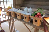 多里神社夏祭神饌