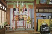 夜啼き荒神祭 祭壇