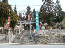 石見神社遠景