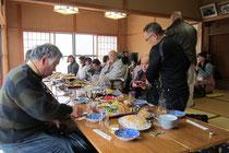 高代部落祭の直会
