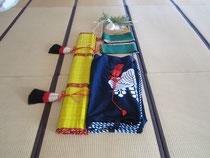 多里神社の正月飾り撤収
