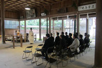鎭霊神社 正式参拝