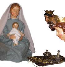 Erscheinung des Herr, Dreikönig in der Milieukrippe in Sankt Maria in Lyskirchen