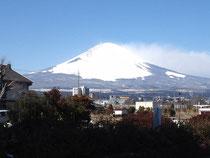 御殿場からの富士山