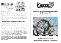 2004, Titelseiten der Gehefte des Grundschullehrers Georg Obermeier