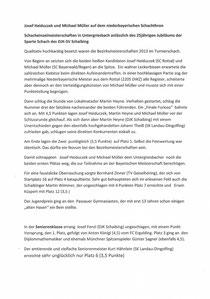 Pressebericht unseren Pressesprechers, zur NB EM in Untergriesbach, 08.04.13