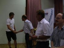 18.08.12, FAAKER SEE, Martin Wimmer, Preisübergabe