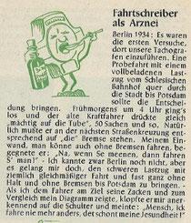 Kleine Geschichte aus den Kienzle-Blättern, Weihnachten 1951