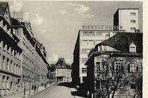 Ansichtskarten-Motiv: Blick auf das Kienzle-Uhrenwerk in Schwenningen