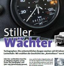 """Artikel """"Stiller Wächter"""" in Last & Kraft 5/2013"""