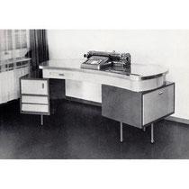 Funktionstisch für Kienzle-Buchungsmaschinen von 1954