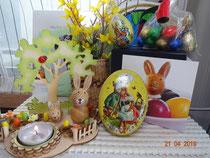 Danke, ihr lieben Osterhäschen. Wir haben uns sehr gefreut!
