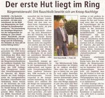 Bürgermeisterkandidat Rauschkolb für Sulingen