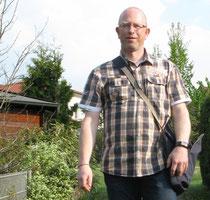 Bürgermeisterkandidat Dirk Rauschkolb macht Hausbesuche