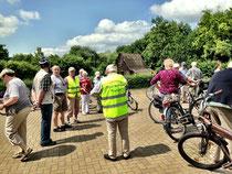 Bürgermeisterkandidat Rauschkolb bei der Miniradtour