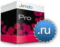 Jimdo поддерживает домены .ru
