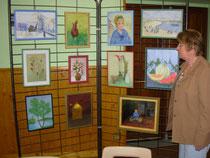 Mado à l'expo du Coudray Saint Germer (Septembre 2010)