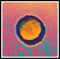 Perles de lune. Pierres de couleurs taillées en cabochon.