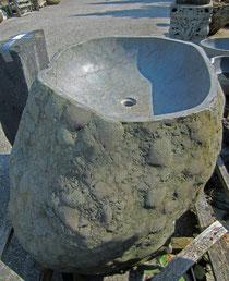 Becken natur Stein