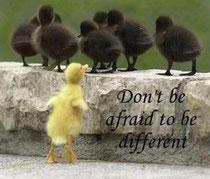 違うことを怖れないで