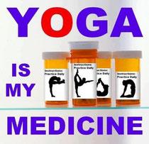 ヨガは私の薬