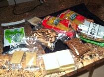 ジップロックの中にはこんなにたくさん食材が